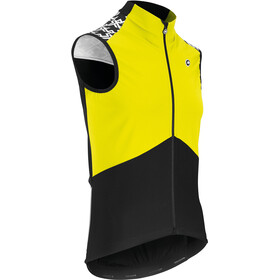 assos Mille GT Chaleco Primavera/Otoño Airblock Hombre, fluo yellow